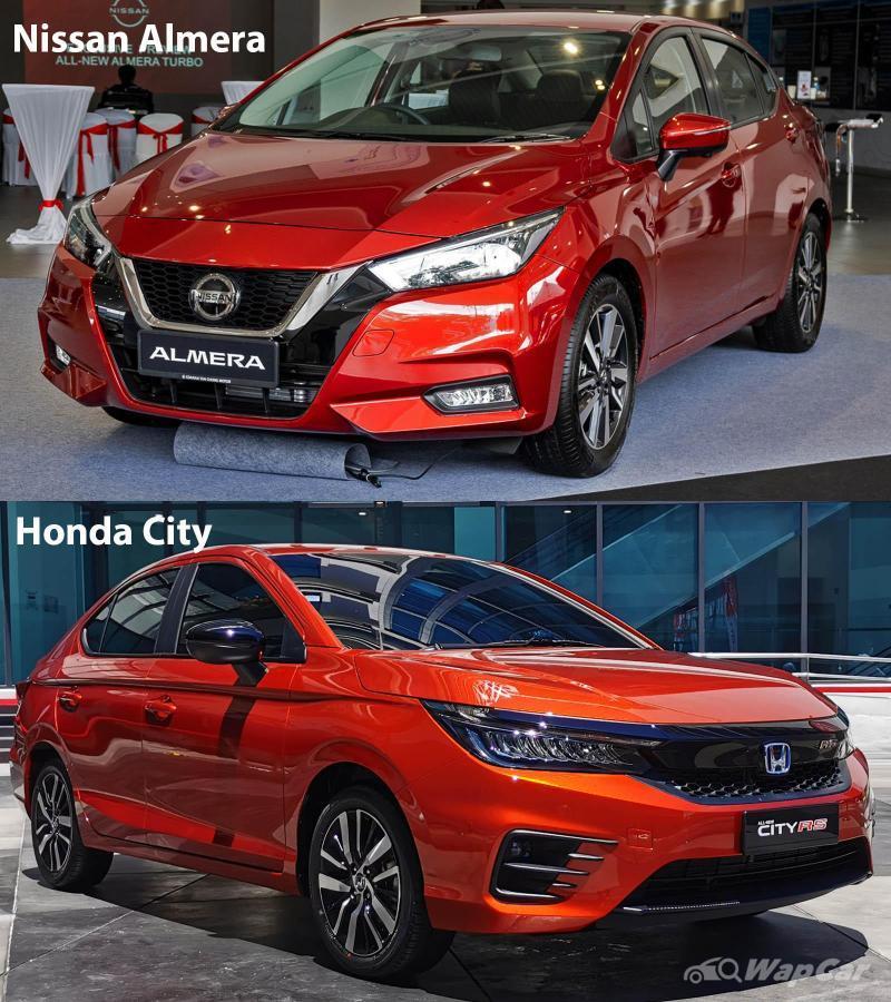 Nissan Almera vs Honda City, turbo atau hibrid? 02