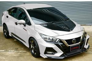 Check out this epic LUMGA body kit on the all-new 2020 Nissan Almera