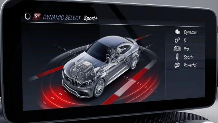 2018 Mercedes-Benz AMG C-Class Coupe C 63 S Interior 002