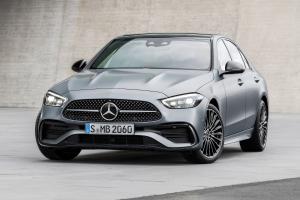All-new 2021 Mercedes-Benz C-Class (W206) debuts; no more hood ornament, rear-wheel steering