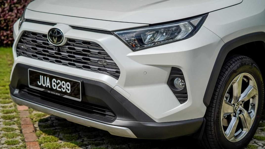 2020 Toyota RAV4 2.5L Exterior 043