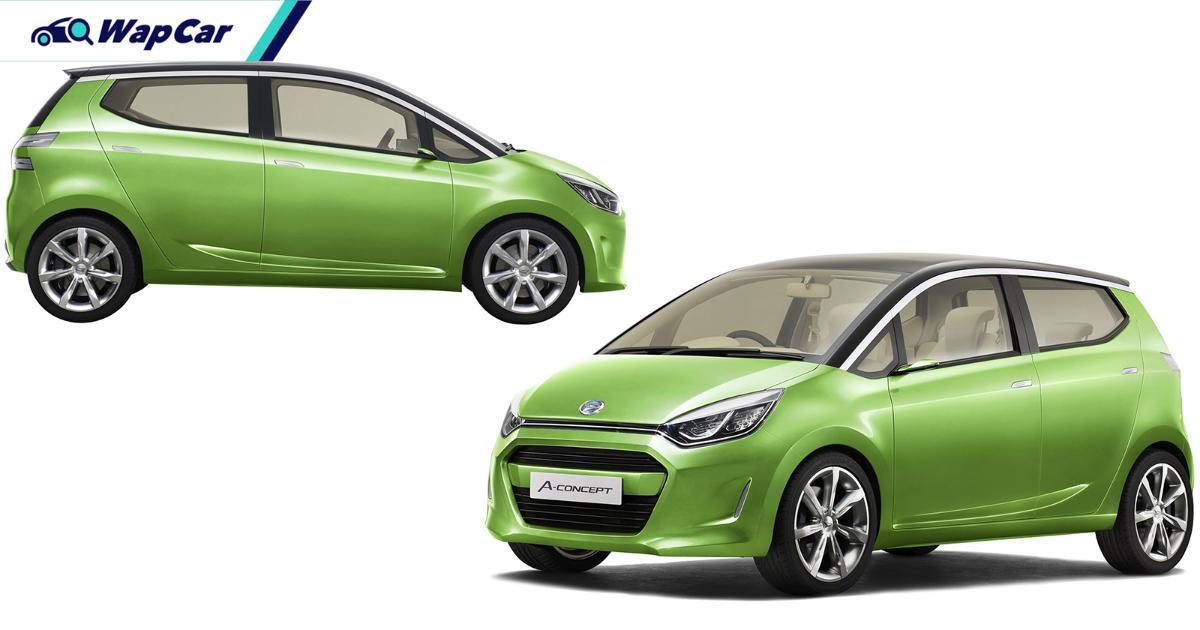 Perodua Axia konsep generasi seterusnya pada 2021? Boleh jadi! 01