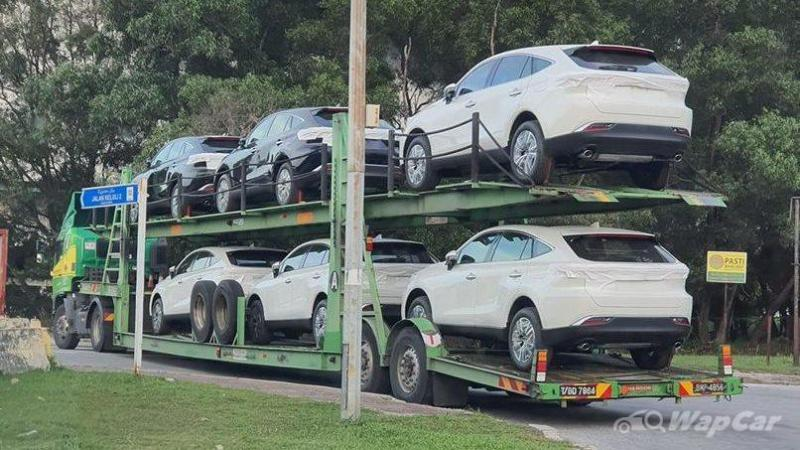 Spied: All-new 2021 Toyota Harrier has arrived in Malaysia, launch imminent 02