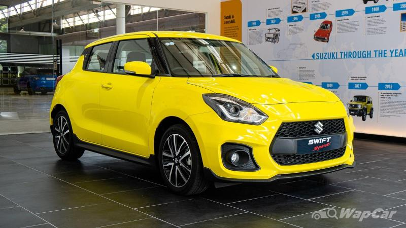 Here's why Naza can't sell you a 6-speed manual Suzuki Swift Sport 02