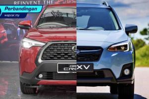Toyota Corolla Cross 2021 vs Subaru XV : TNGA vs AWD - pertarungan 2 casis terbaik?