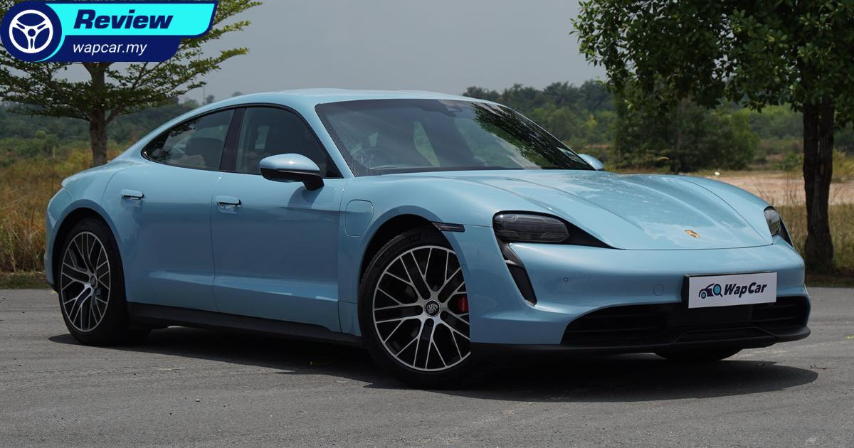 Review: Porsche Taycan 4S - an electrifying, synapse-frying performance car 01