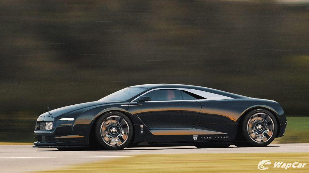 If Rolls-Royce were to make a supercar, it'd probably look like this 01