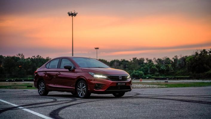 2020 Honda City RS 1.5 Hybrid Exterior 007