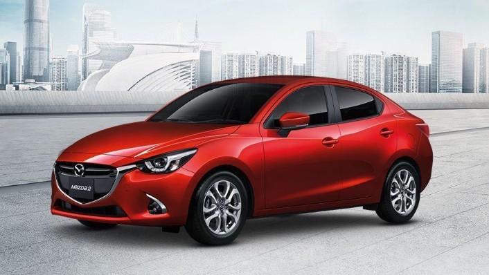 Mazda 2 Sedan (2018) Exterior 001