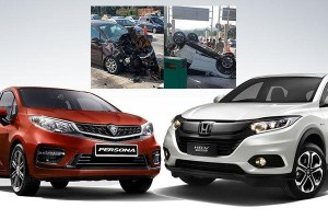 If SUVs are safer than sedans, how do you explain the Persona and HR-V toll crash?