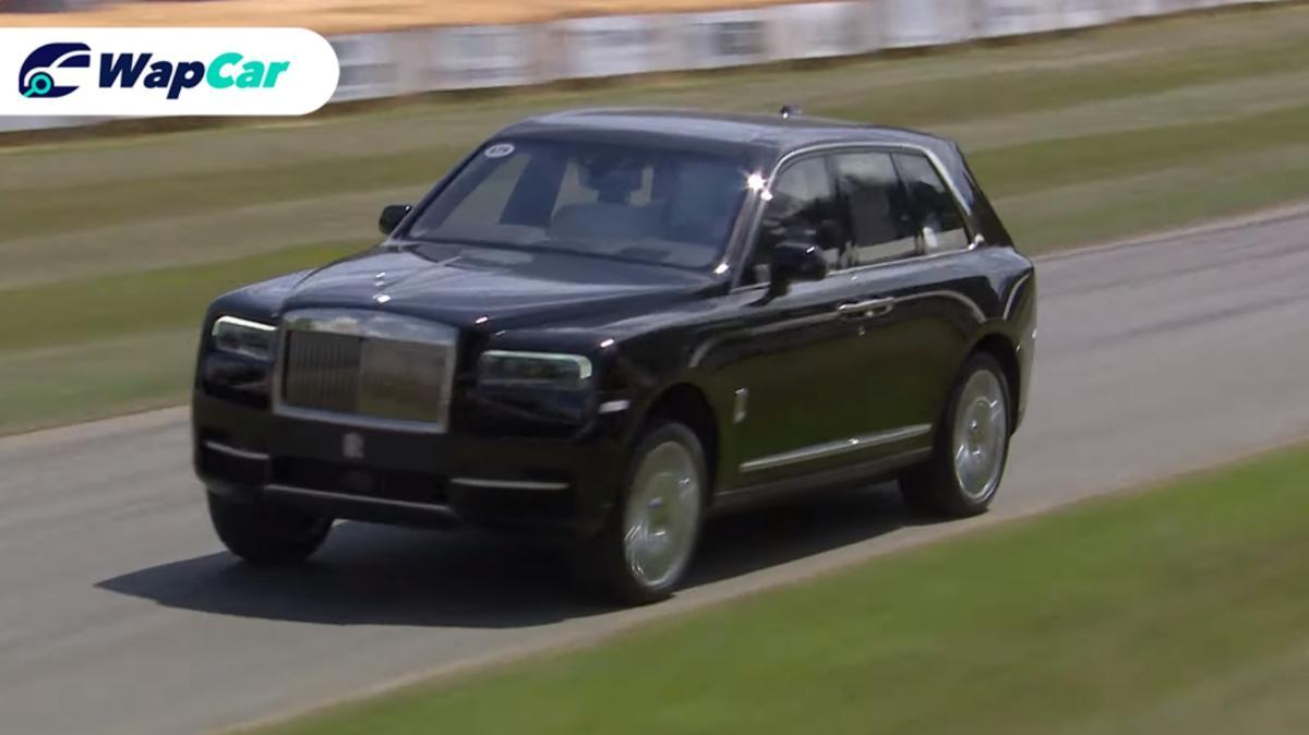 Watch: Rolls Royce Cullinan destroys the track 01