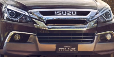 Isuzu MU-X (2018) Exterior 009