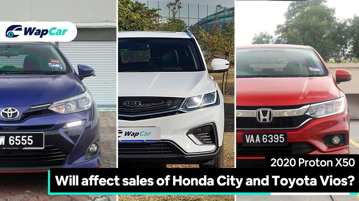 Will the Proton X50 affect sales of Honda City and Toyota Vios? 01