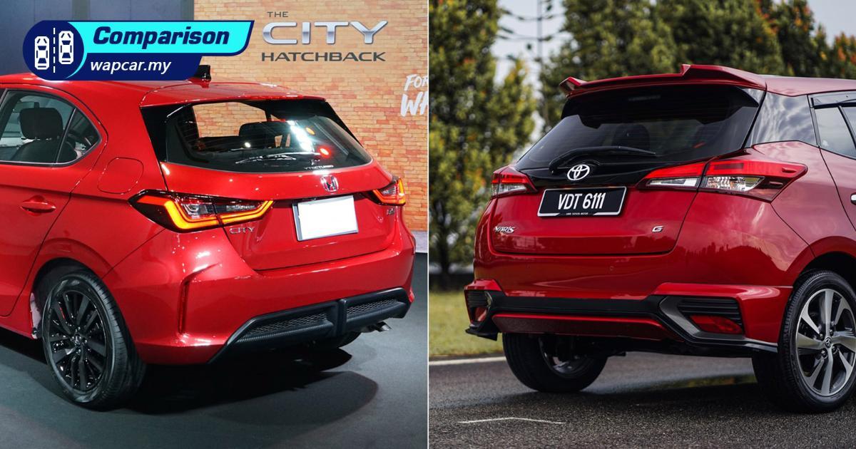 2021 Honda City Hatchback vs Toyota Yaris facelift – Should you wait or not? 01