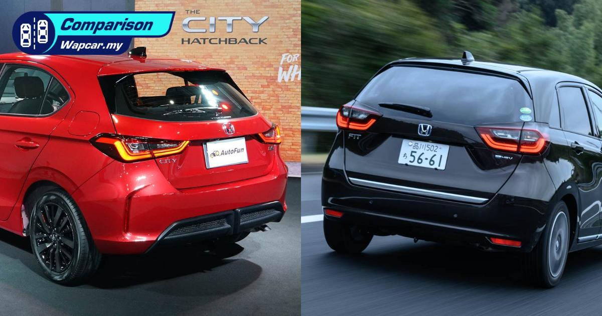 Honda Jazz vs 2021 Honda City Hatchback, which do you prefer? 01