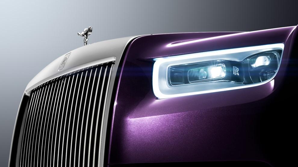 2018 Rolls-Royce Phantom Extended Wheelbase Exterior 002