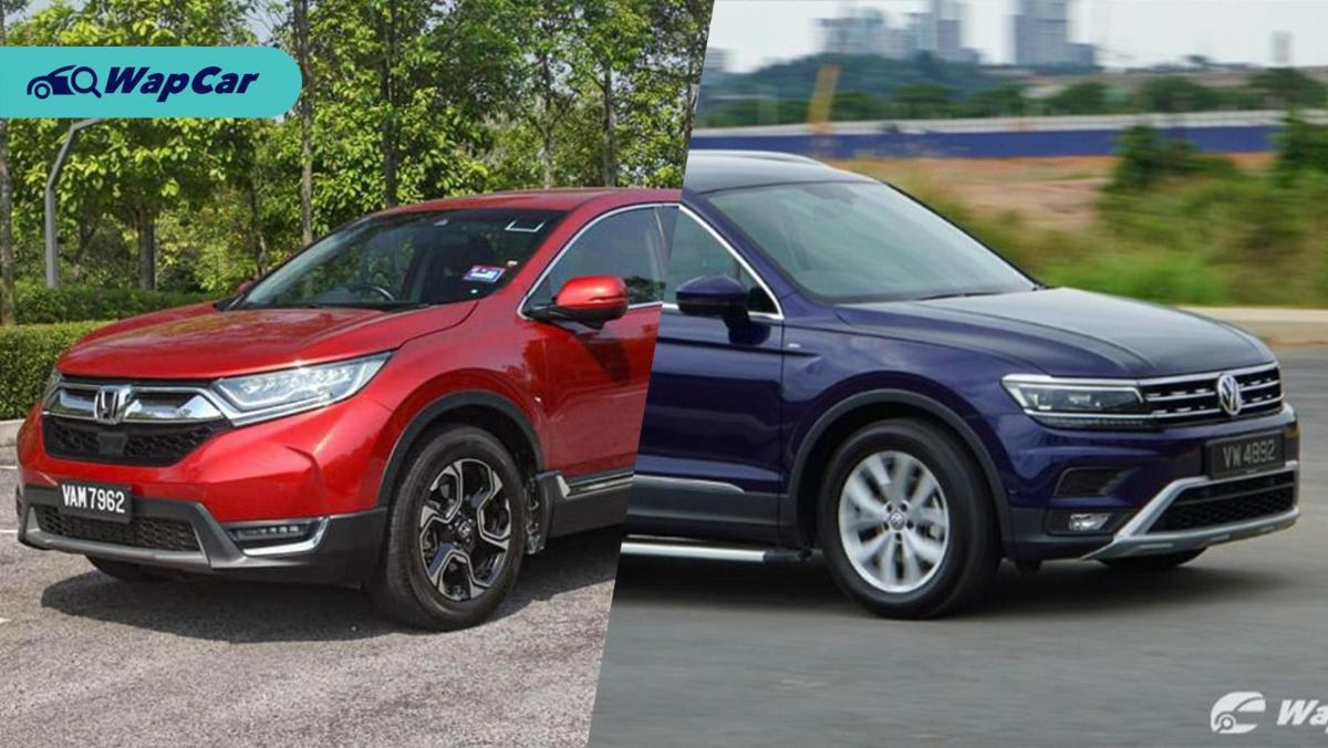 Honda CR-V atau VW Tiguan? SUV mana yang lebih baik? 01