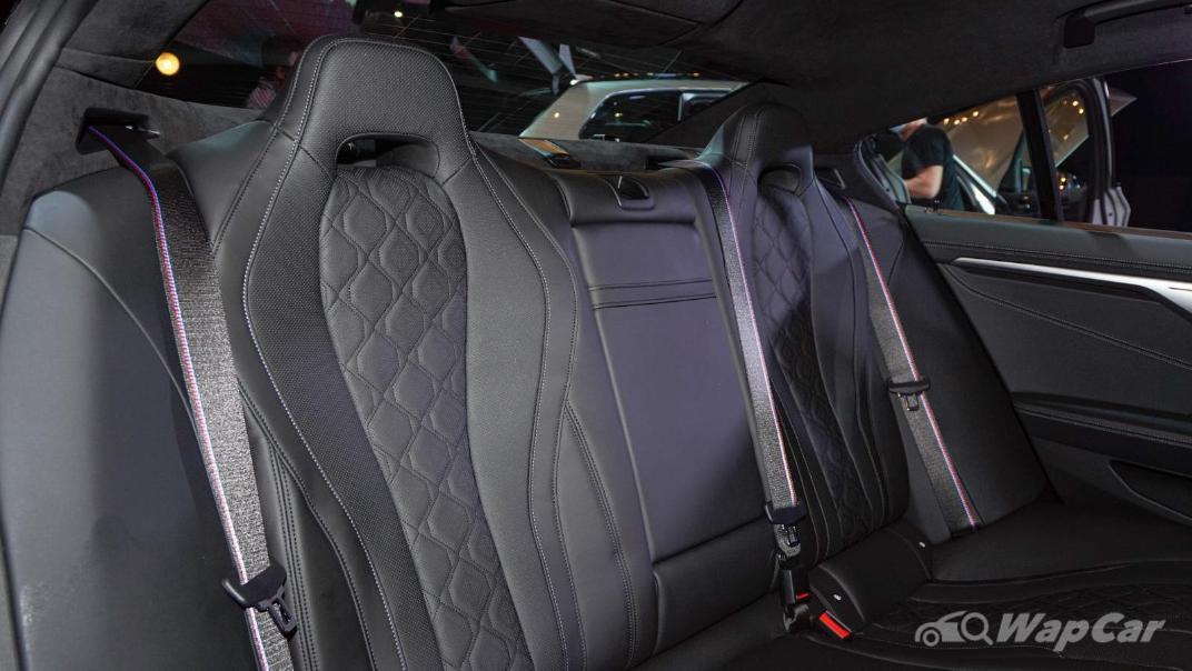 2020 BMW M850i xDrive Gran Coupe Interior 005