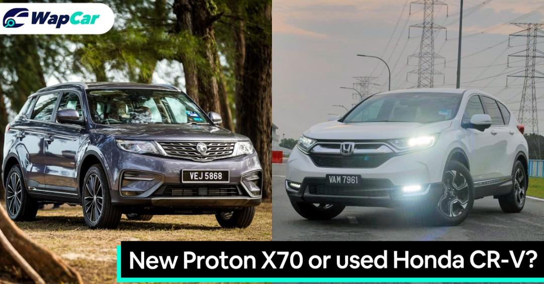 Should you buy a new Proton X70 or a used Honda CR-V? 01