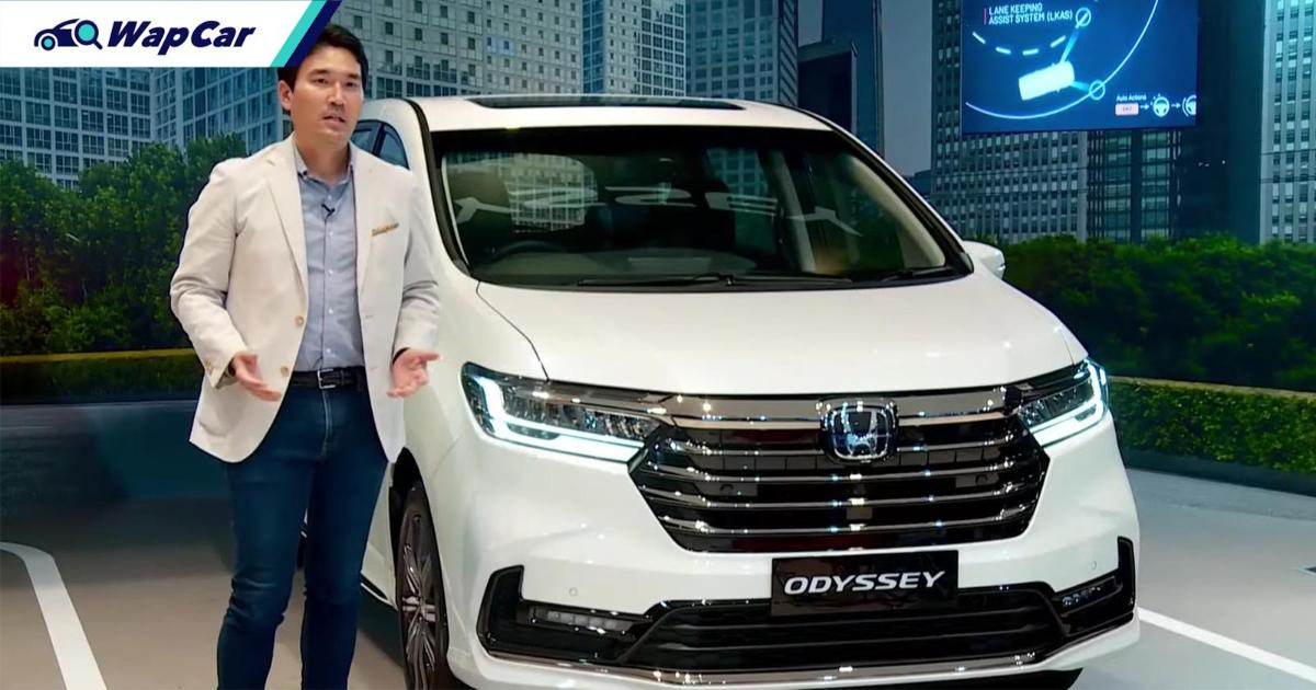 Indonesia welcomes 2021 Honda Odyssey facelift, coming to Malaysia this year 01