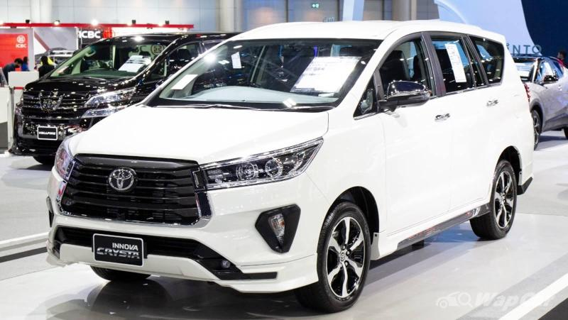 Poor man's Alphard gets updated - 2021 Toyota Innova facelift heads to Malaysia 02