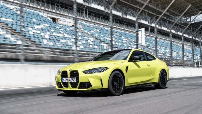2021 BMW M4 Competition Coupe Exterior 006