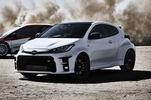 Pre-order a 2020 Toyota GR Yaris in Japan and get Morizo's signature on the windshield