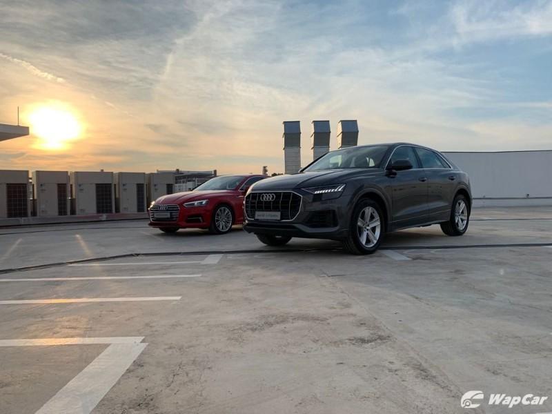 Audi models, Q8 and A5 Sportback