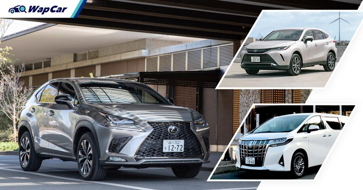 Lexus is not doing so well in Japan and it's all the Harrier and Alphard's fault 01