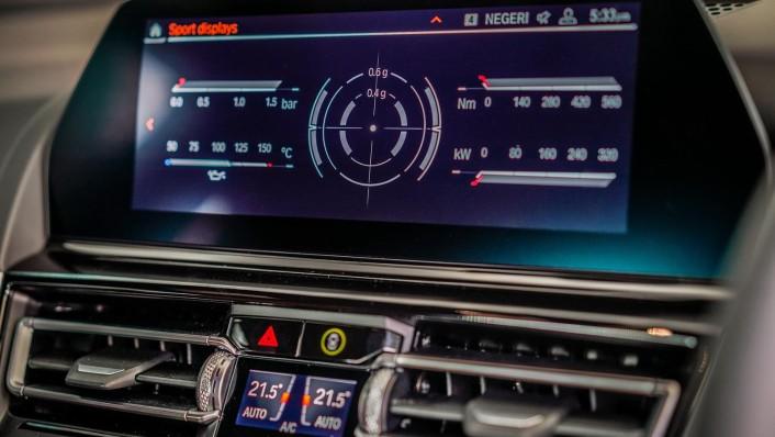 2020 BMW 8 Series 840i Gran Coupé M Sport Interior 004