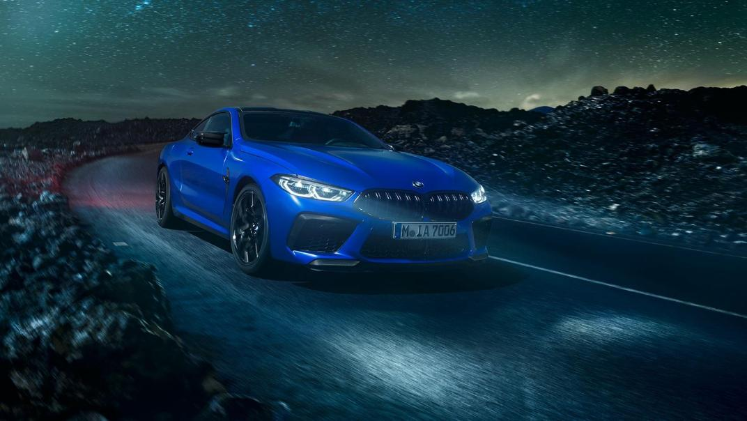 2020 BMW M850i xDrive Coupe Exterior 020