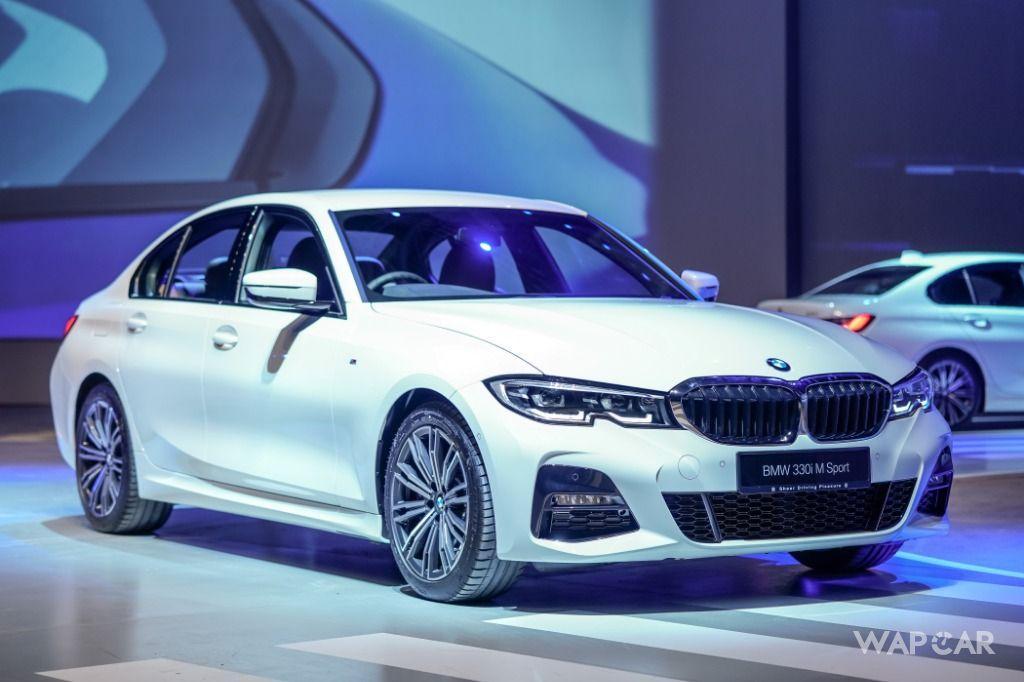 2019 G20 BMW 3 Series front