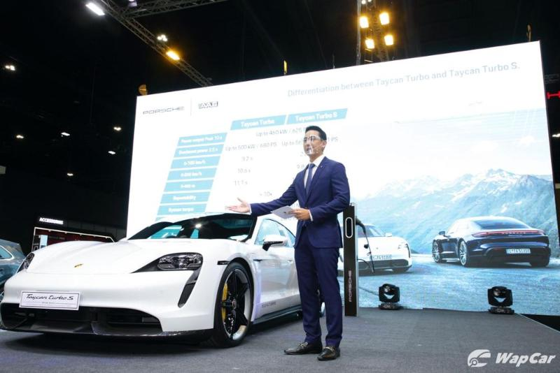 Porsche Taycan launched in Thailand - costs over RM 1.5 million 02