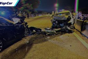Akibat melawan arus, Toyota Corolla Altis dirempuh Honda City sampai remuk!