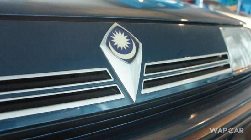 1985 Proton Saga emblem