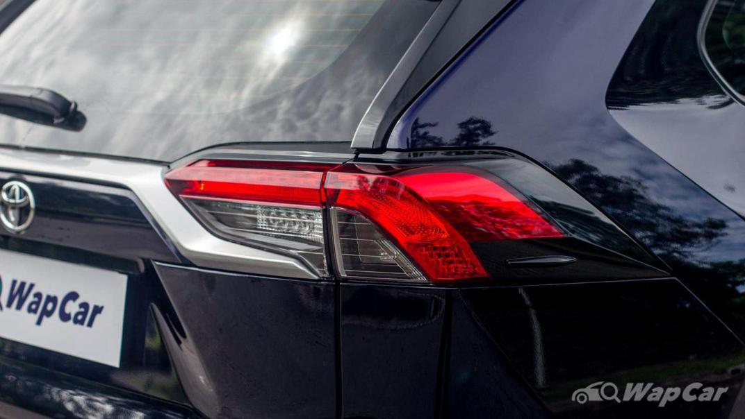 2020 Toyota RAV4 2.5L Exterior 019