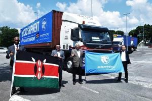 Proton Saga now exported to Kenya!