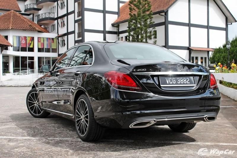 Mercedes-Benz C200 facelift W205 Malaysia