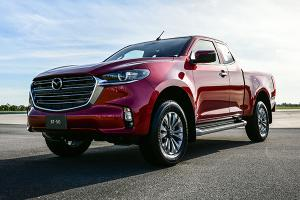 2021 Mazda BT-50 debuts in Thailand, D-Max reliability with Kodo Design
