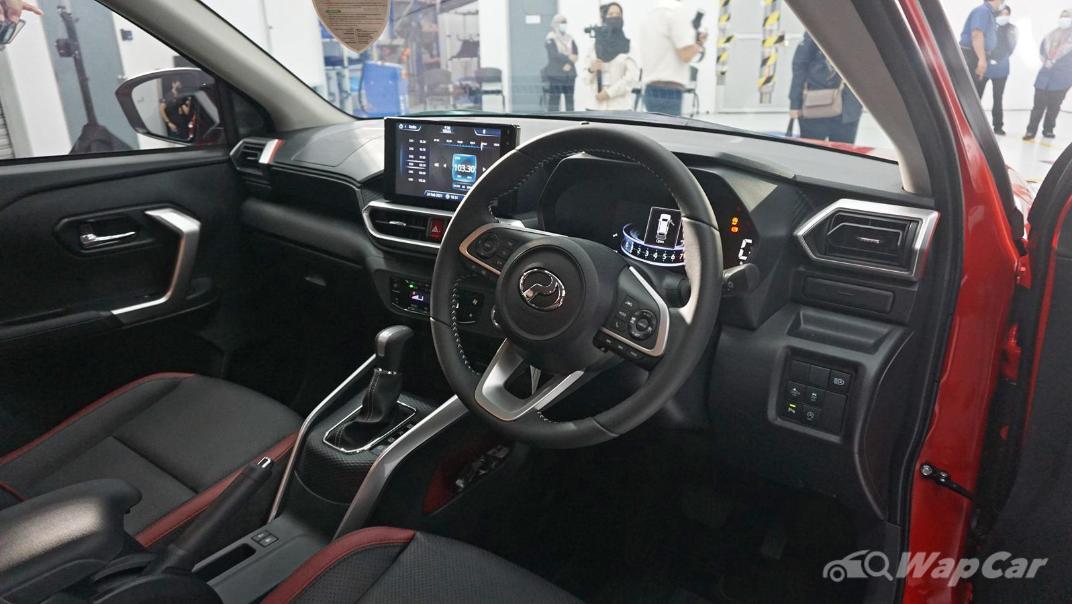 2021 Perodua Ativa 1.0L Turbo AV Interior 002