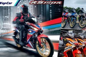 Honda RS150 V2 turun harga. Petanda 'goyang' dengan Yamaha Y16ZR atau Winner X hampir tiba?