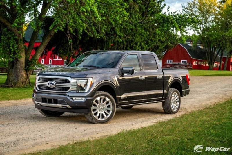 All-new 2021 Ford F-150 can do 1,126 km with one tank of petrol 02