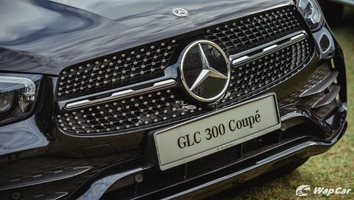 2020 Mercedes-Benz GLC 300 4MATIC Coupé Exterior 008