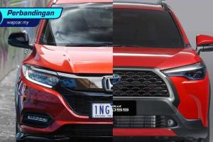 Toyota Corolla Cross 2021 vs Honda HR-V – apa rahsia yang patut rakyat Malaysia tahu?