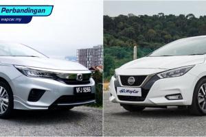 Honda City vs Nissan Almera: Yang mana lebih murah untuk dijaga?