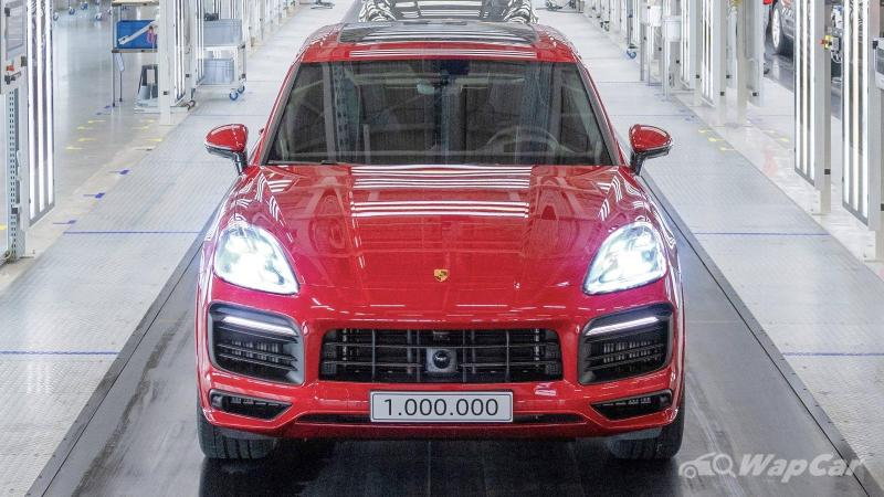 A CKD Porsche Cayenne will be launched in Malaysia, CKD Taycan next 02