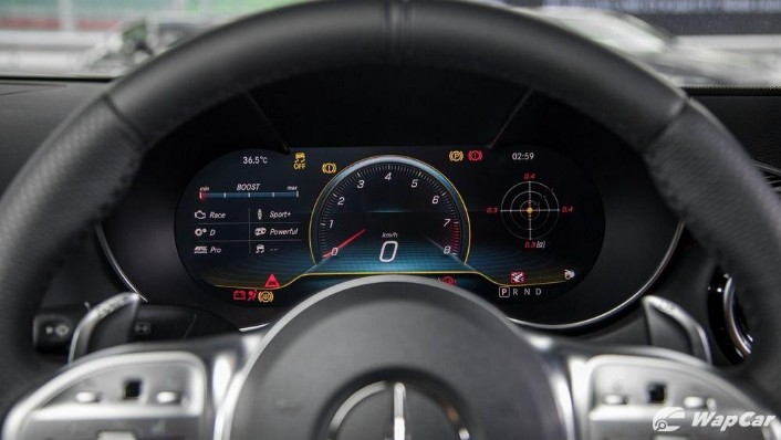 2019 Mercedes-Benz AMG GT C Interior 004