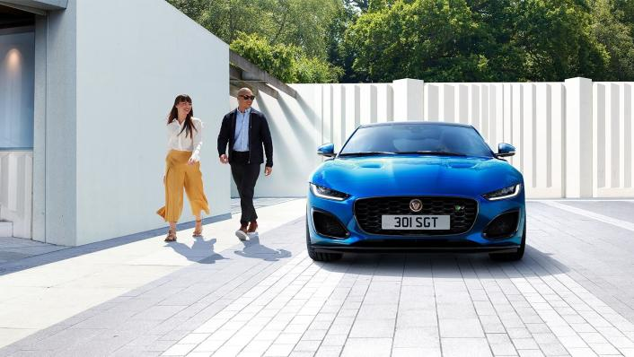 2020 Jaguar F‑TYPE Coupe Exterior 002