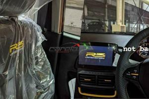 Spyshot: pandang pertama Proton Saga R3, bahagian dalam dulu?