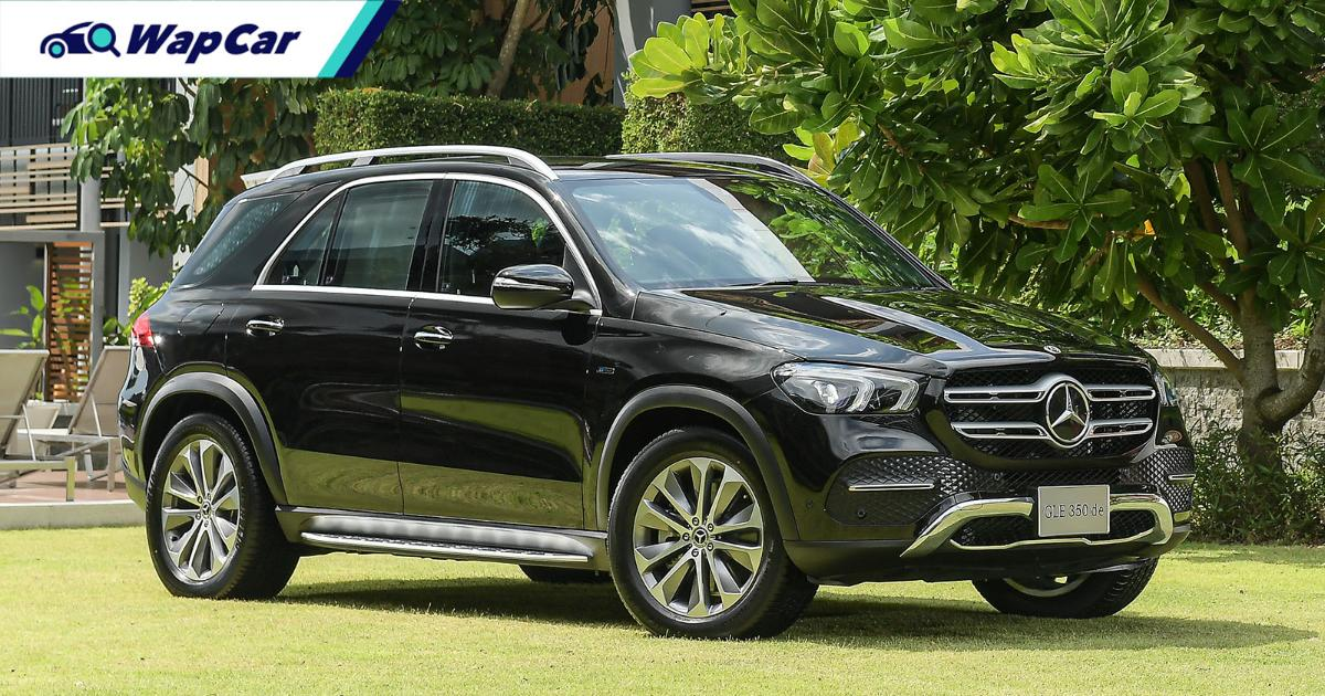 2021 Mercedes-Benz GLE 350de diesel PHEV launched in Thailand 01
